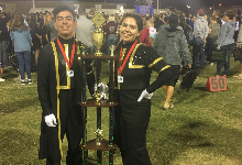 Band Earns 2nd Place & Outstanding Percussion