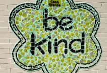 """Be Kind"" Mural"