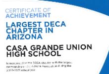 DECA Earns International DECA Honor