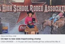 Trapshooting State Champ