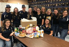 Students Provide 20 Thanksgiving Meals