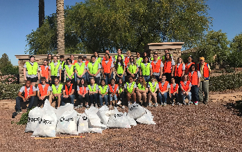 Key Club City Cleanup