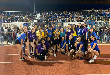 Dance Teams Brought Together at Rivalry Game
