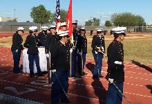 JROTC Celebrates Marine Corp Birthday