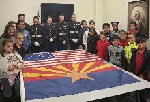 MCJROTC Cadets Teach U.S. Flag Class