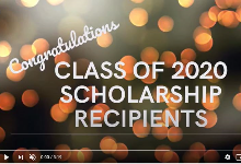 Senior Scholarship Recipients