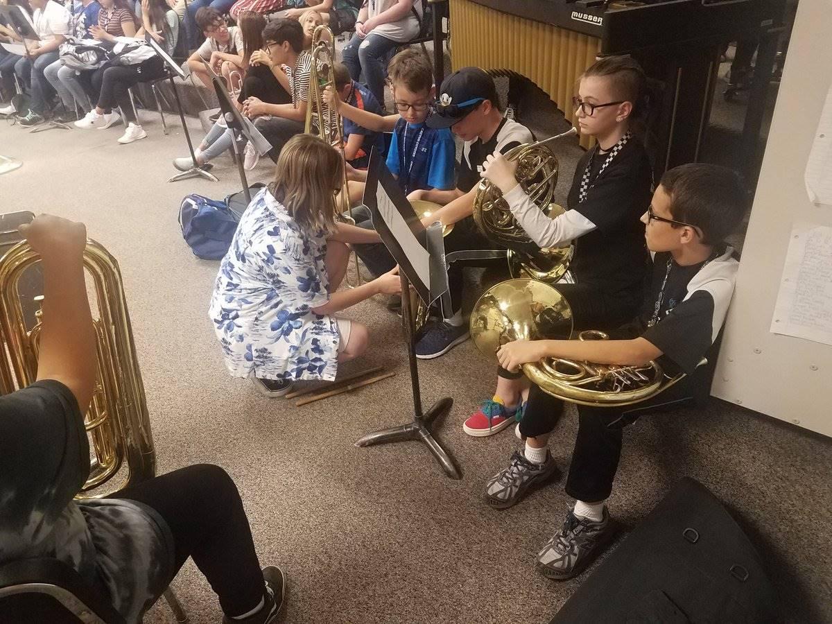 Band Mentors Cactus Middle School 20190821