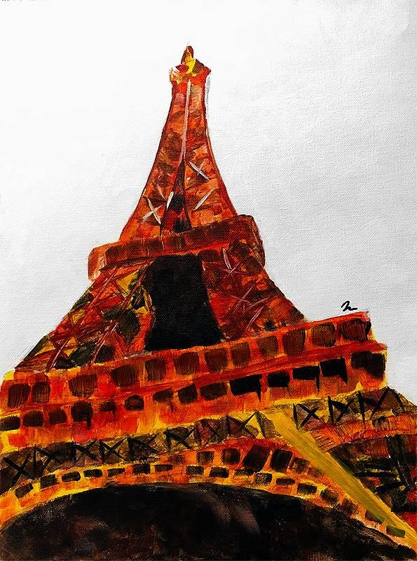 Art Class 2 Eiffel Tower 20190913 (1)
