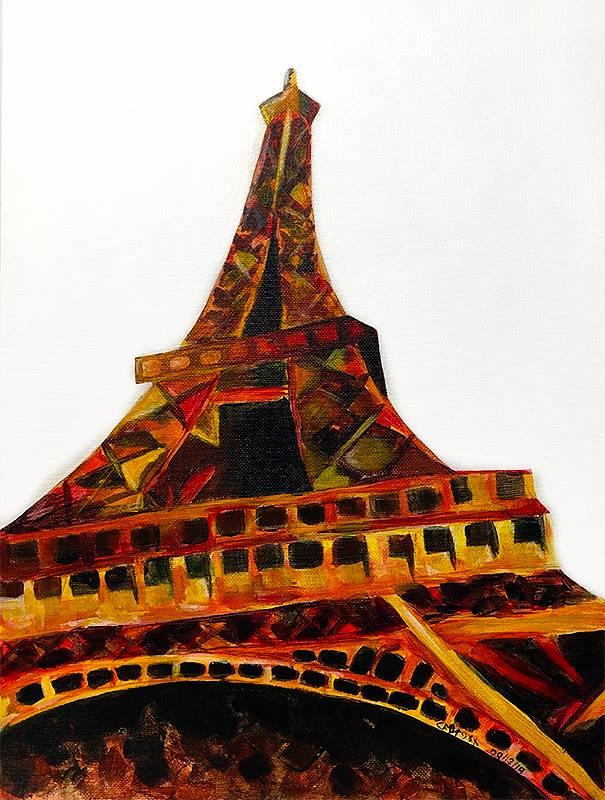 Art Class 2 Eiffel Tower 20190913 (2)