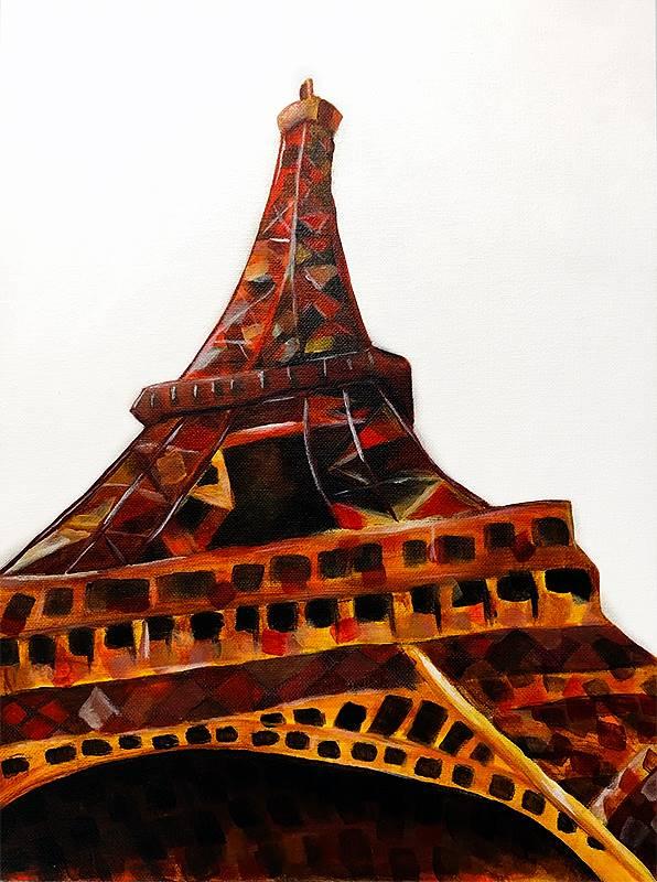 Art Class 2 Eiffel Tower 20190913 (3)