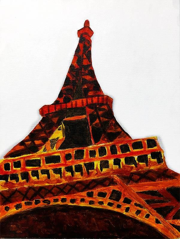 Art Class 2 Eiffel Tower 20190913 (5)