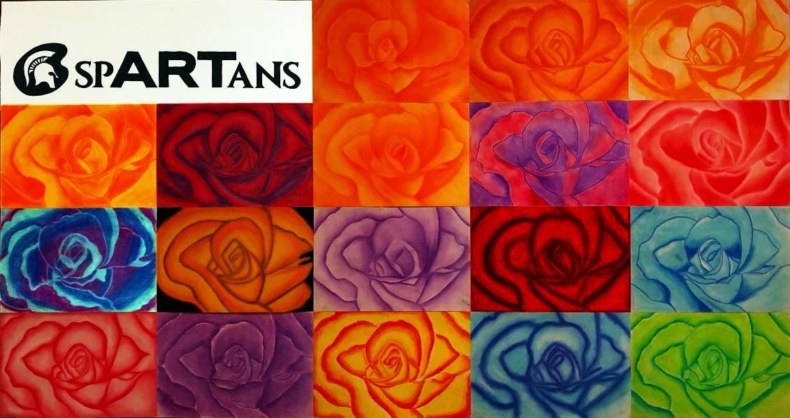 Art Class1 Pastels 20190918