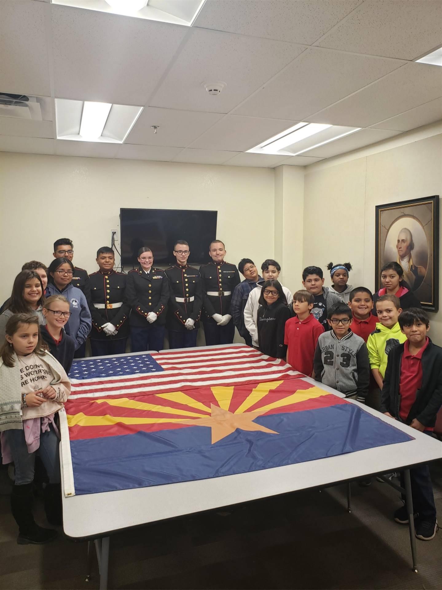 JROTC Palo Verde Elementary School 20191101