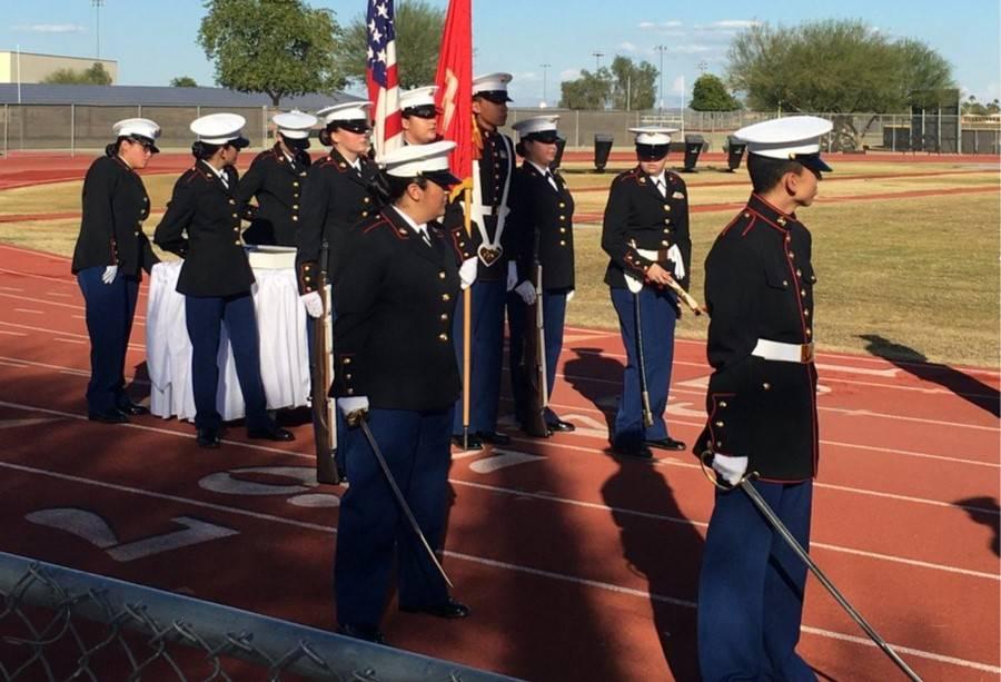 JROTC Marine Corp Birthday 20191110 Crop