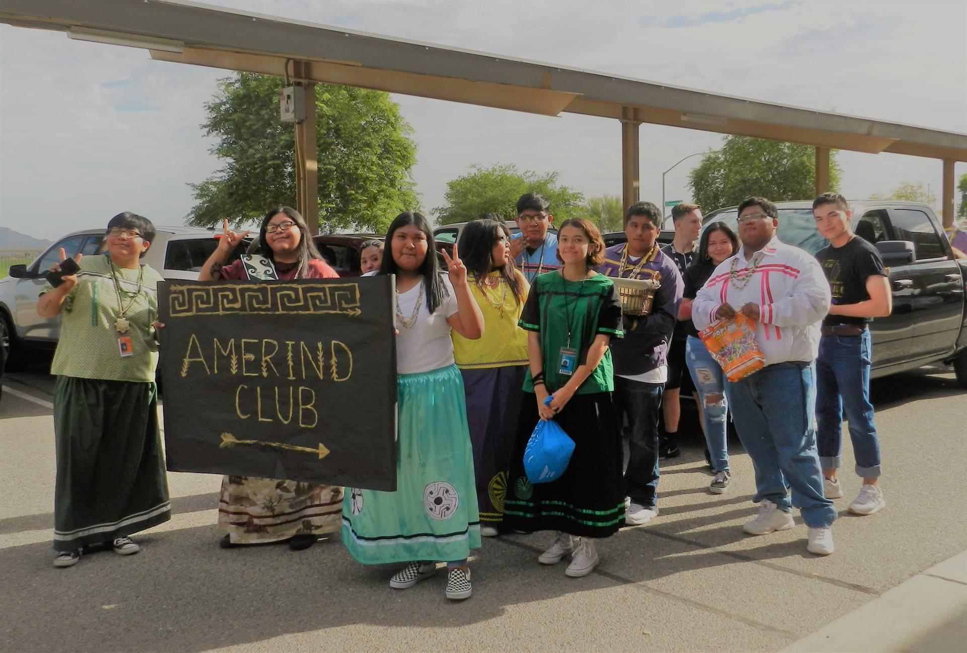 AmerInd Club Homecoming Parade 20190913