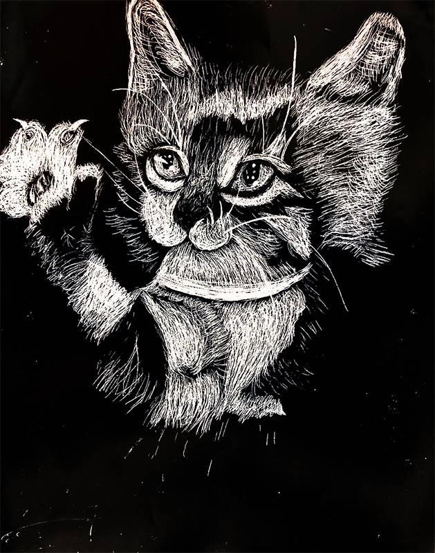 Scratchboard Illustration 20191122 (6)