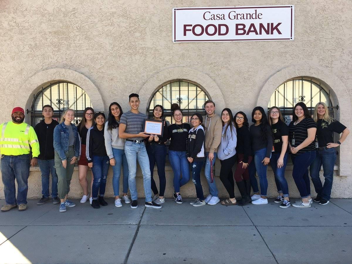 Key Club Casa Grande Food Bank 20191126 (1)