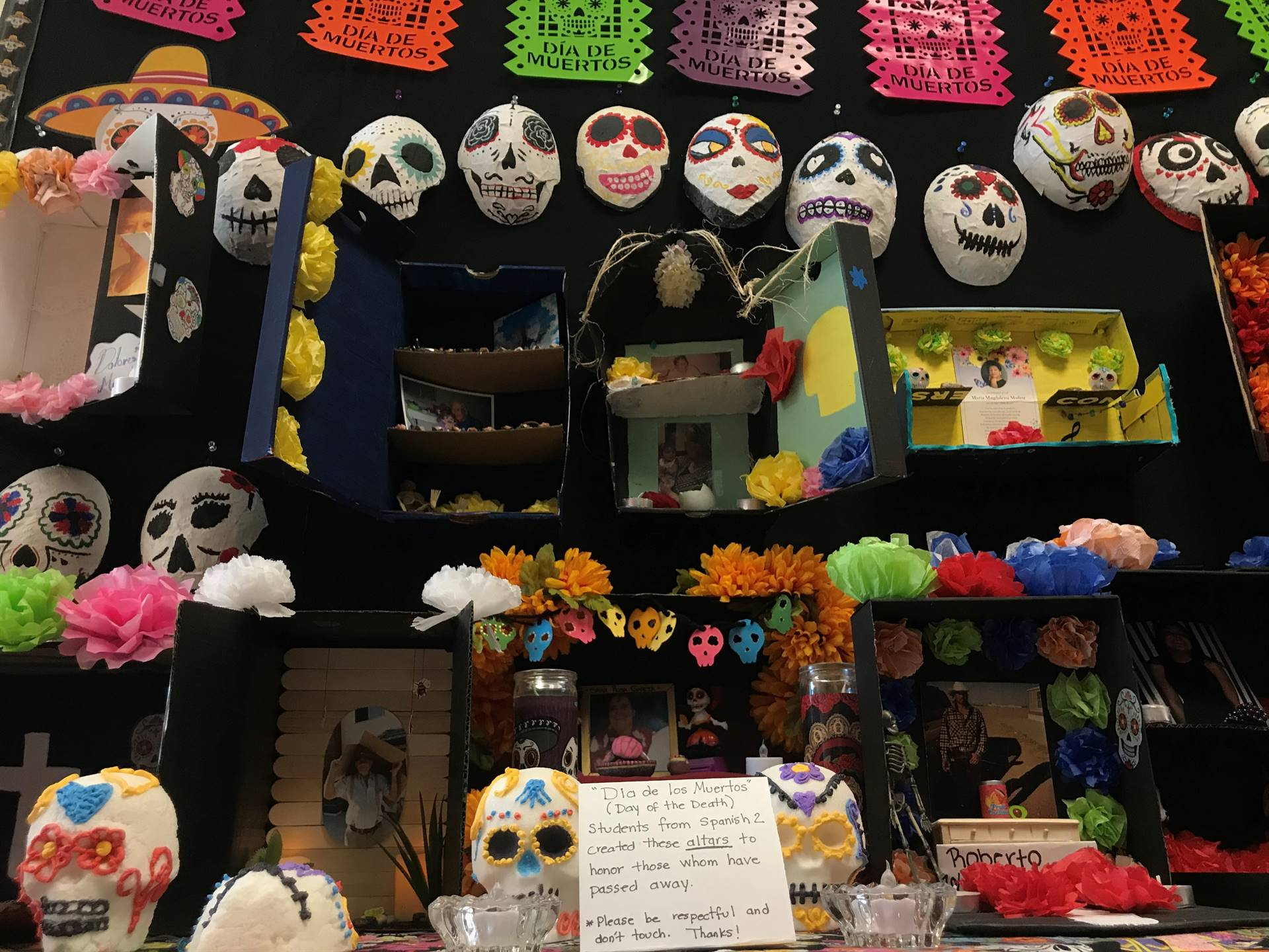 Spanish Classes Day Of Dead 20191031 (2)