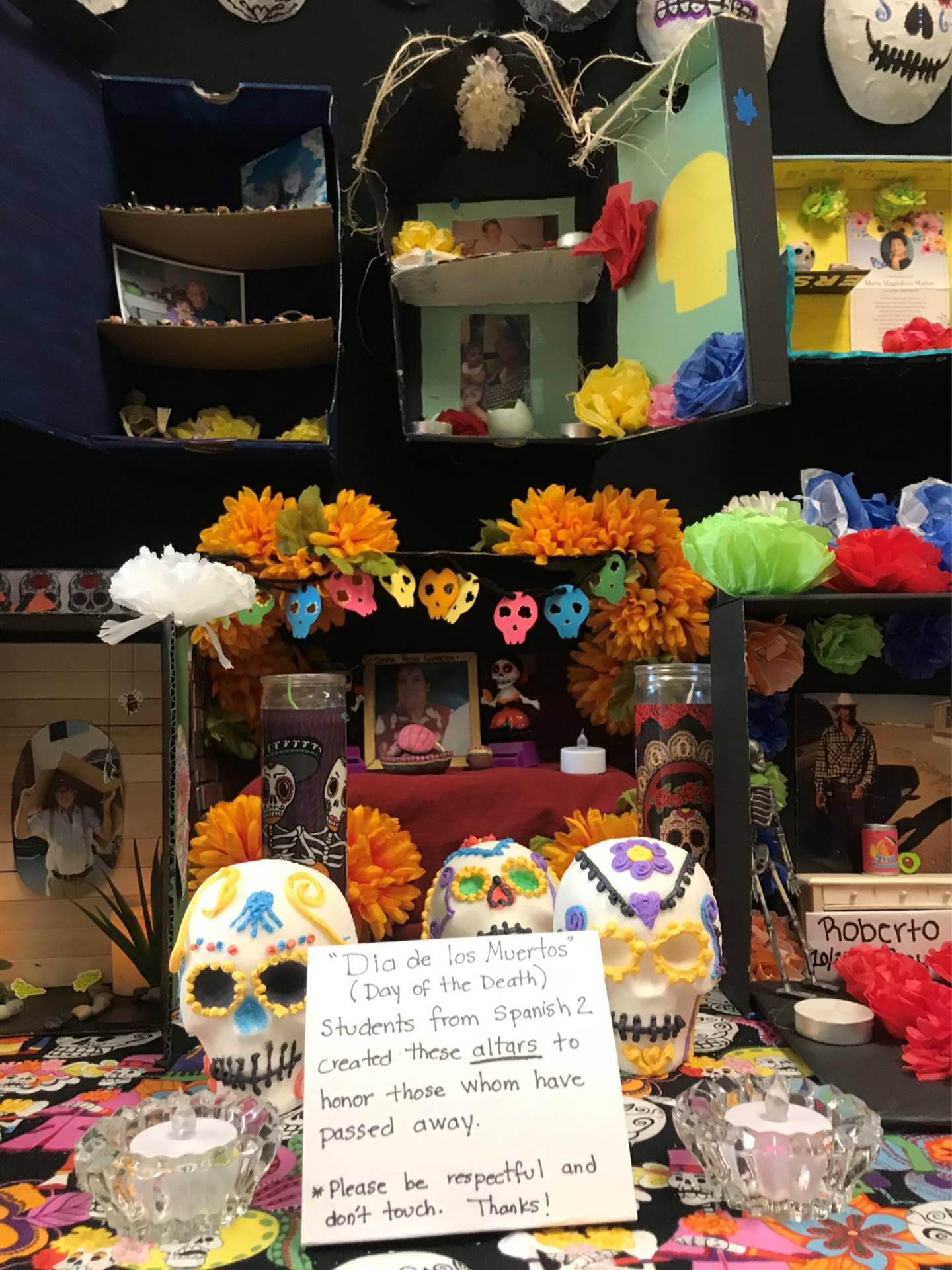 Spanish Classes Day Of Dead 20191031 (3)