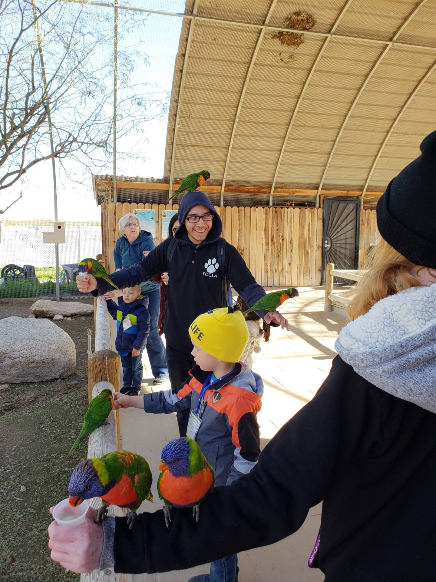 CTE ECE Cogburn Ostrich Farm 20191106