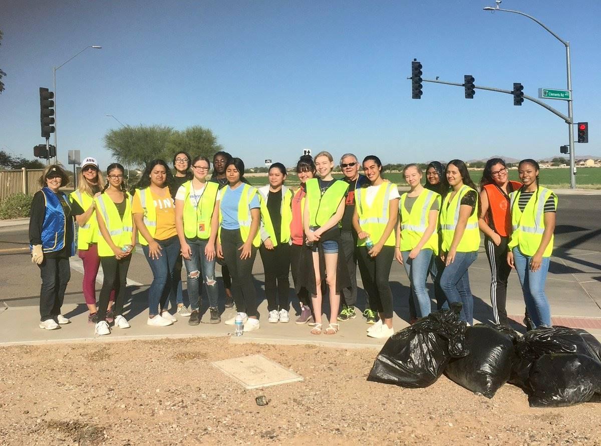 Key Club City Clean Up 20191012