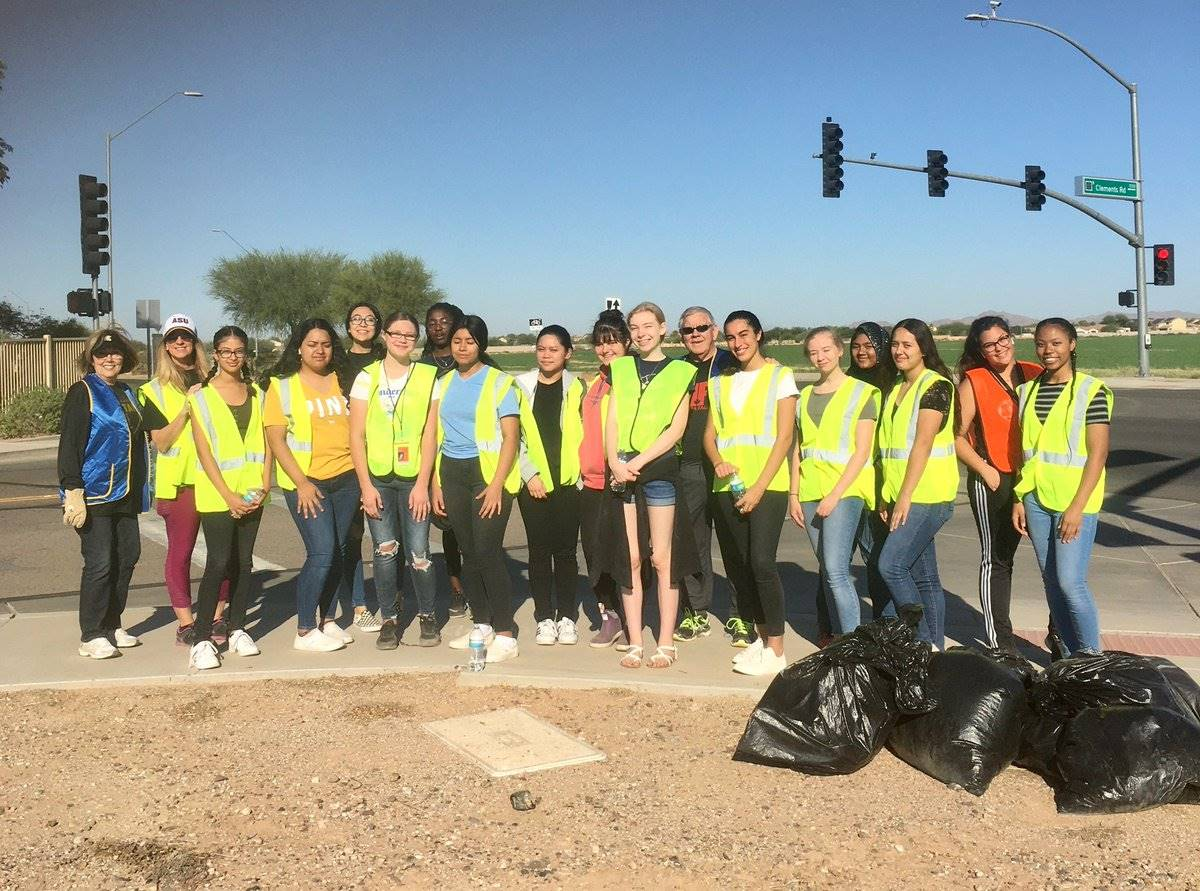 Key Club City Clean Up 20191012