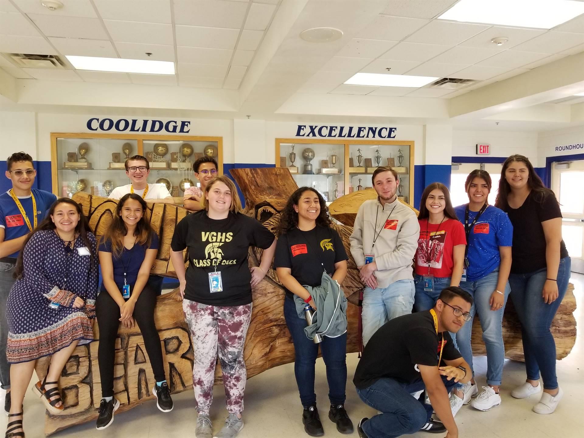 Student Council Coolidge Team Building 20190926