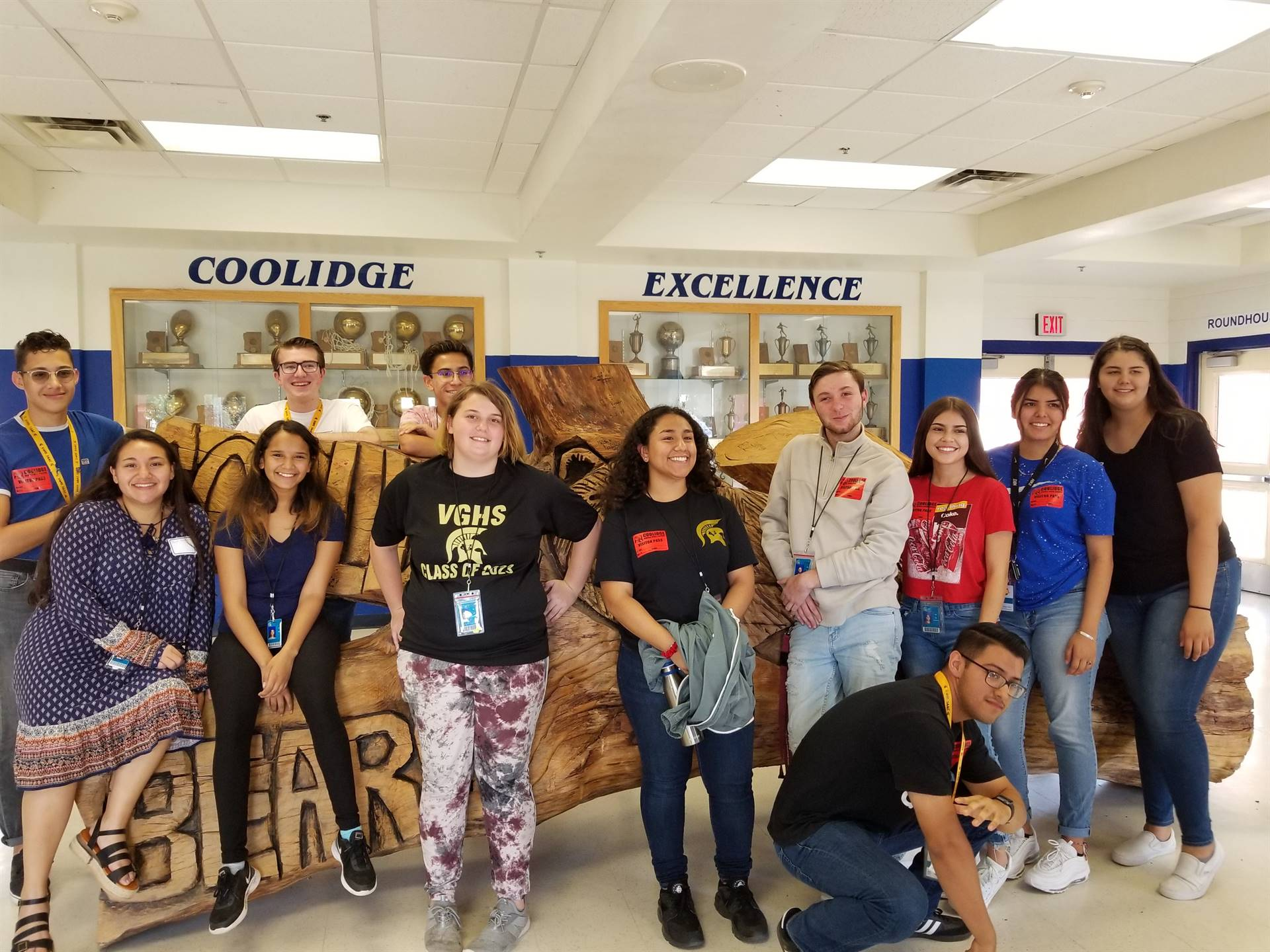 Student Council Coolidge Team Building 20190926
