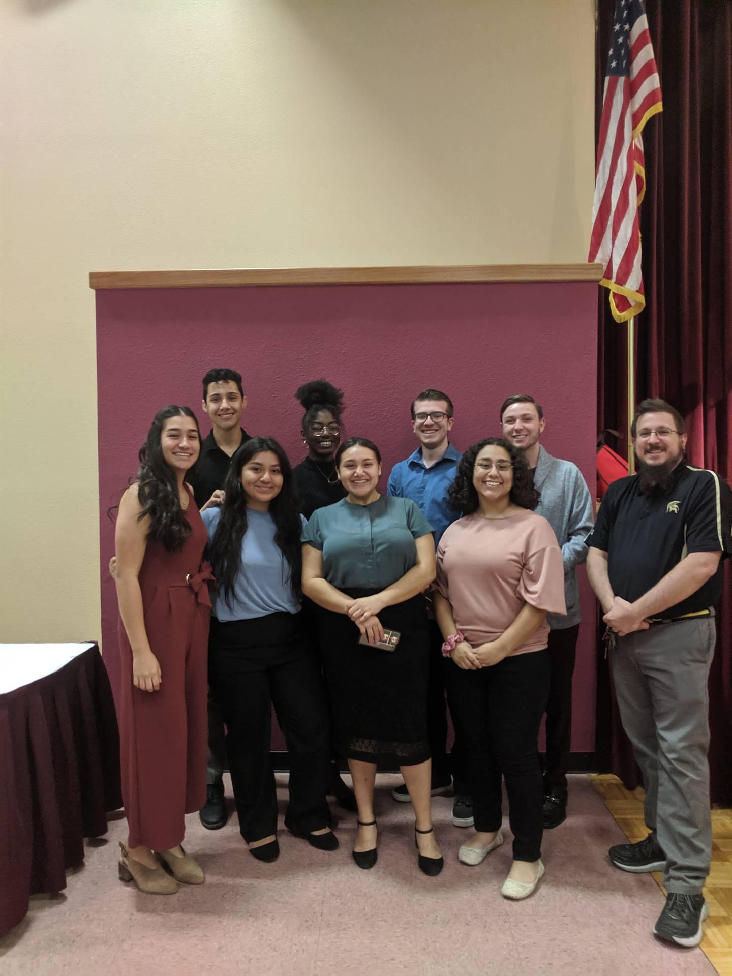 Student Council AASC Advisor President Luncheon 20191106