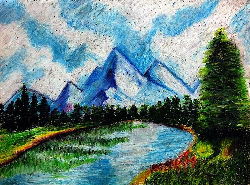 Art I Oil Pastels 20191206 (3)