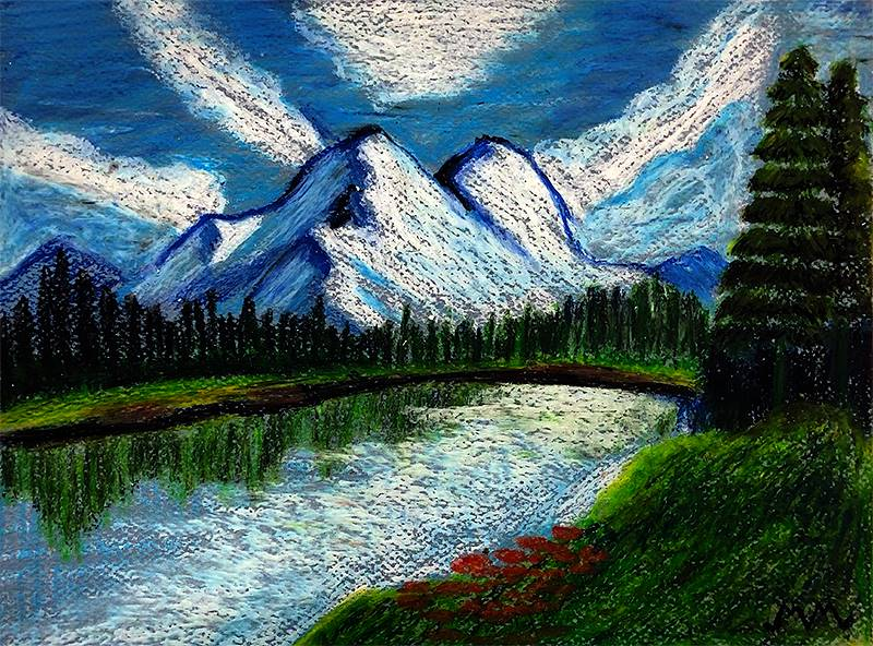 Art I Oil Pastels 20191206 (4)