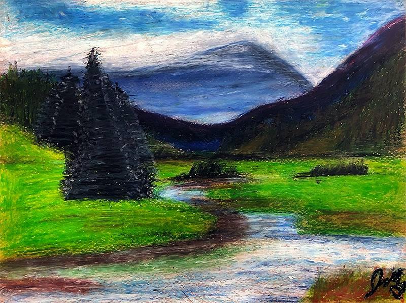Art I Oil Pastels 20191206 (9)