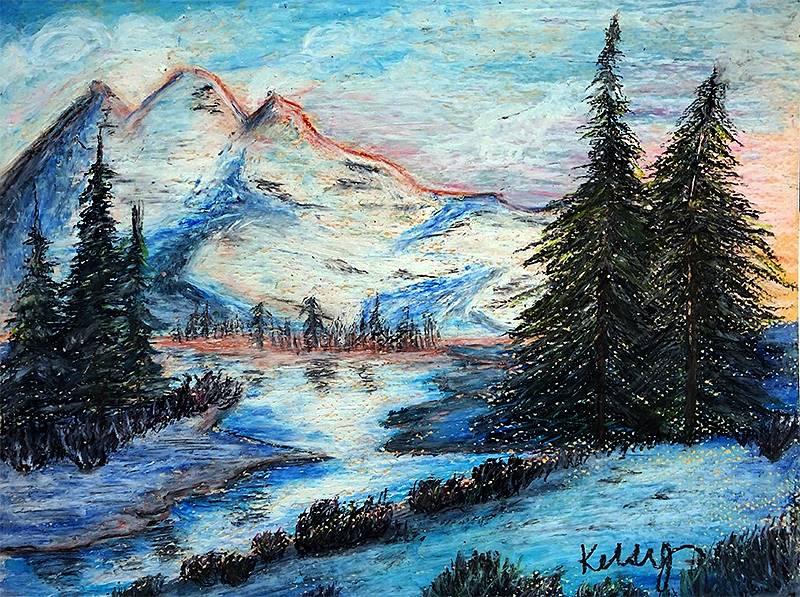Art I Oil Pastels 20191206 (1)