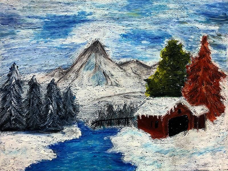 Art I Oil Pastels 20191206 (2)
