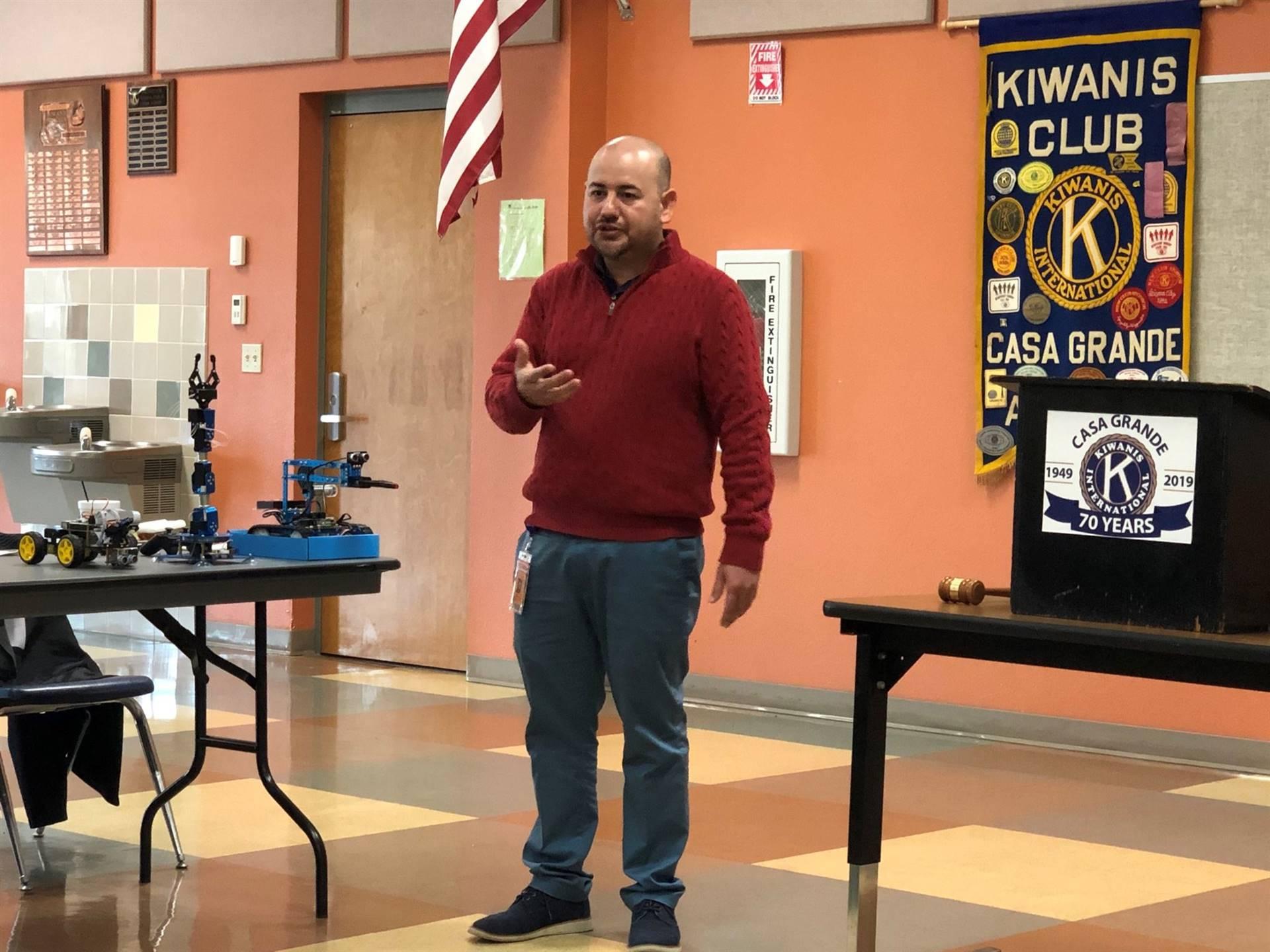 Estrada Vega Kiwanis Club Meeting 20191212