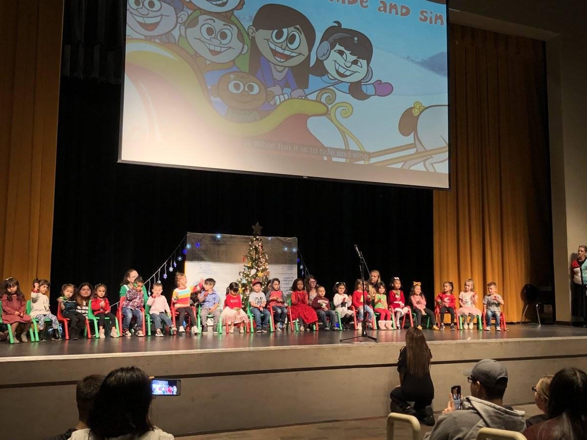 Spartan Sparkies Preschool Winter Program 20191213