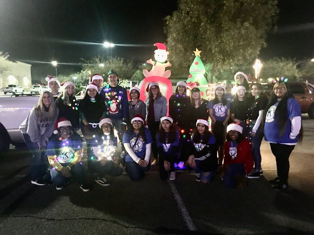 Key Clubs Electric Light Parade 20191207