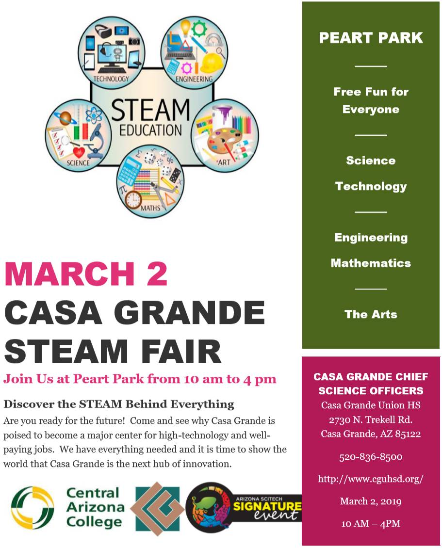 Casa Grande STEAM Fair