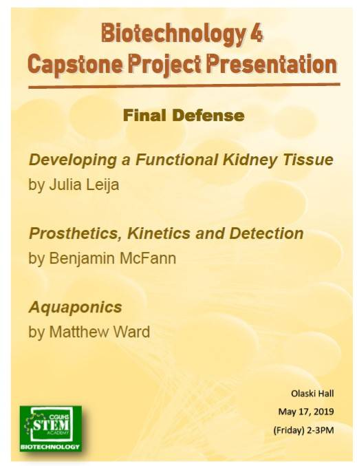 BioTech 4 Capstone Project Presentation