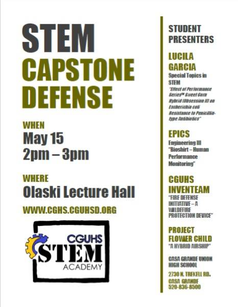 STEM Capstone Defense