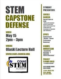 STEM Capstone Defense