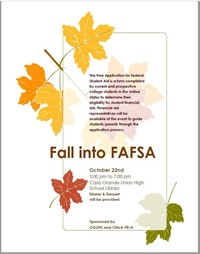 Fall Into FAFSA