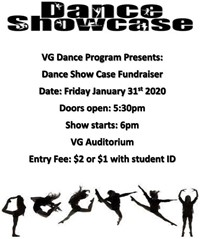 Dance Showcase VG 20200131