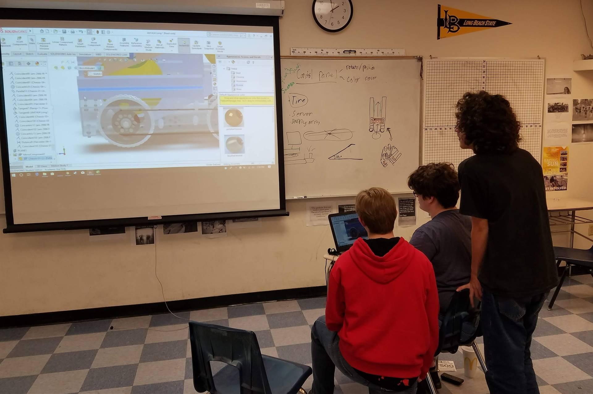 Robotics Team Robot Design and Build 20200116 (3)