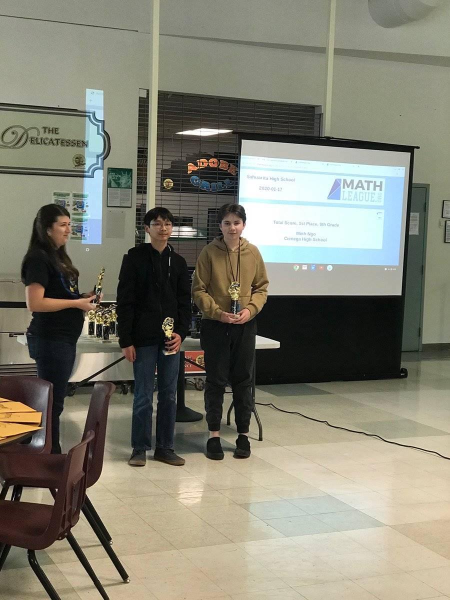 Mathletes Sahaurita High School Competition 20200123 (2)
