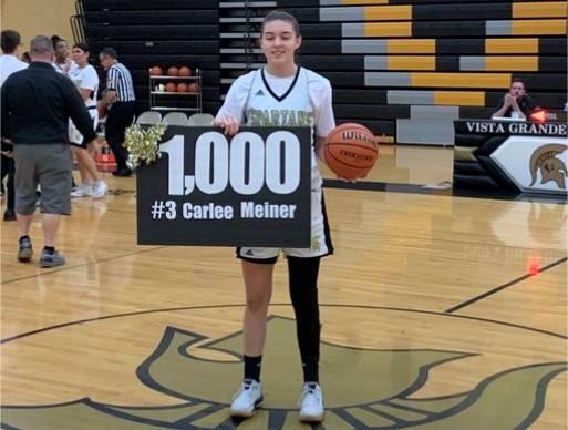 Basketball Girls Meiner Carlee 1000 Career Points 20200204 Crop