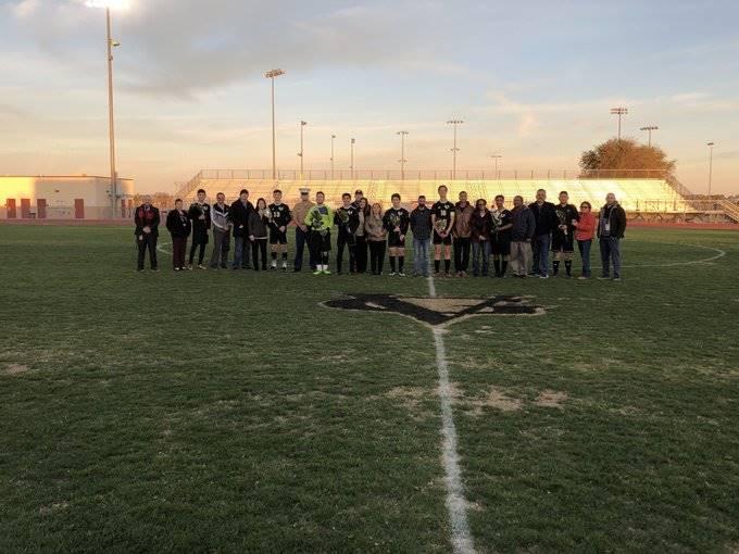 Soccer Boys Senior Night 20200206