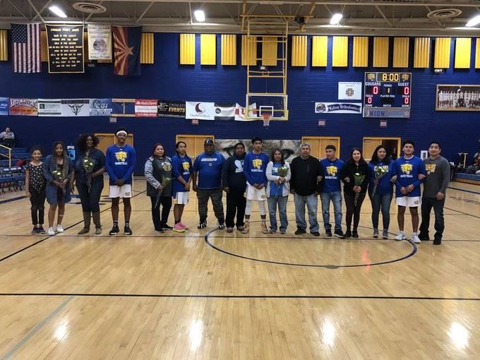 Basketball Boys Senior Night 20200206